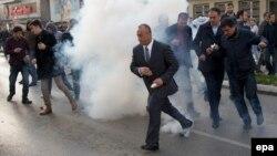 Protesti opozicije u Prištini 18. novembra