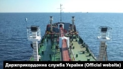 Арестованное судно «Мрия»