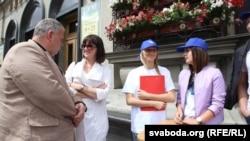 Збор подпісаў за вылучэньне Ірыны Дарафеевай
