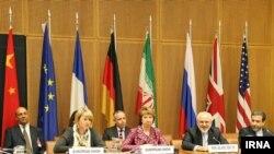مذاکرات هسته ای گروه ۱+۵ در وین در سال ۱۳۹۴(عکس از آرشیو)