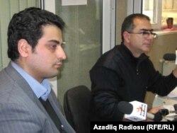 Sayman Aruz (solda) və İlqar Rəsul