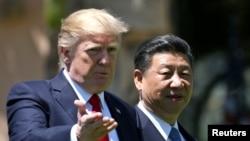 Donald Trump i Si Đinping na Floridi, u aprilu 2017.
