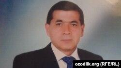Термиз давлат университети собиқ ректори, профессор Хидирназар Аллақулов.