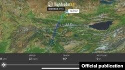 Данные портала Flightradar. 13 марта 2018 года.