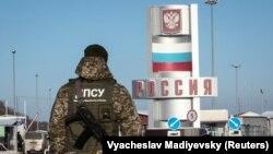 Гоптовка – пункт пропуска на украинско-российской границе в Харьковской области