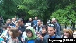 Жалобне зібрання кримських татар у Сімферополі 18 травня