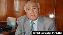 Руководитель Госкомиссии по делам религий по южному региону Курбаналы Узаков. Ош, 28 сентября 2011 года.