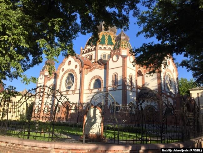 Sinagoga je izgrađena 1902. godine, a 1974. godine proglašena je za spomenik kulture od izuzetnog značaja.