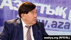 Ақын Мұхтар Шаханов. Алматы, 22 қыркүйек 2015 жыл.