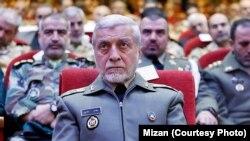 Главнокомандующий ВС Ирана генерал-майор Атаолла Салехи и его подчиненные слушают речь Великого аятоллы Али Хаменеи