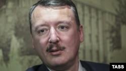 """Gündogar Ukrainada orsýetli separatistleriň öňki ýolbaşçysy Igor Girkin, şeýle-de """"Strelkow"""" diýlip tanalýar, Nowosibirsk, 30-nji ýanwar, 2015."""