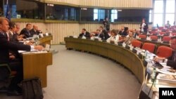 Мешовит комитет ЕУ Македонија. Стразбур, Франција.