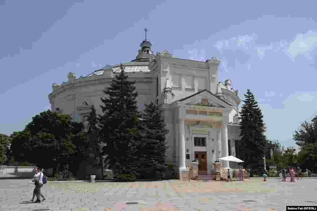 Панорама «Обороны Севастополя 1854-1855 годов» –одна из крупнейших среди 60-ти панорам мира