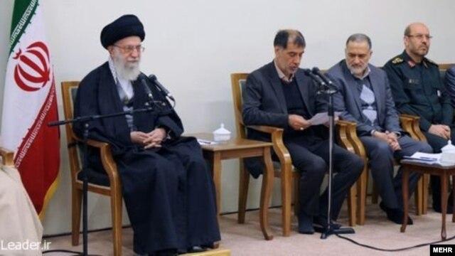 علی خامنهای، رهبر جمهوری اسلامی در دیدار خود به مناسبت روز ملی مهندس