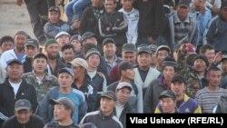 Митинг в Джети-Огузском районе. 30 мая 2013 года