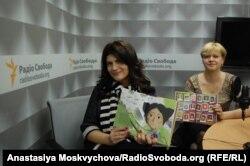 Лариса Денисенко та співзасновниця видавництва Лілія Омеляненко
