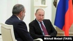 Пашинян менен Путин. 2018-жыл.