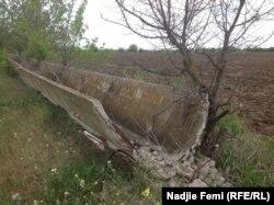 На початку року невідомі зруйнували у селі лотки – наземні споруди, через які вода надходила до ланів.