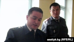 Прокурор айблов хулосасини ўқимоқда.