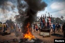 Очередные массовые волнения в столице ЦАР Банги