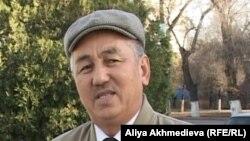 Председатель общественной палаты Талдыкоргана Ермек Ешмуханбетулы. Талдыкорган, 14 ноября 2012 года.