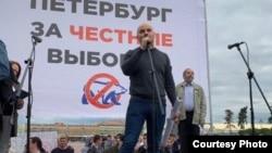Выступление Алексея Пивоварова