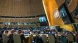 Засідання Генасамблеї ООН, 18 грудня, Нью-Йорк. Фото Рустема Умерова