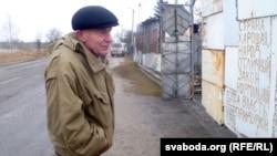 """Міхаіл Лукашэвіч каля свайго """"палітычнага плоту"""""""