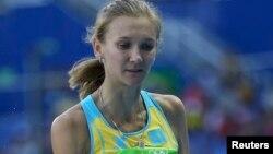 Ольга Рыпакованың Рио олимпиадасында жарысқа қатысып жатқан сәті. 13 тамыз 2016 жыл.
