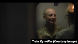 Кадр з фільму «Поїзд Київ-Війна»