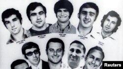 Израильские спортсмены, убитые террористами в Мюнхене
