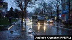 Дощ у Сімферополі, 29 листопада 2017 року