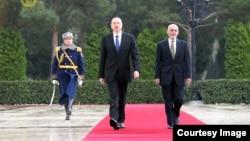 İlham Əliyev və Ashraf Ghani