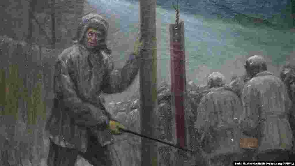 Картина художника Бориса Курликова – украинского живописца, мастера пейзажа. С 1939 по 1947 год был в заключении