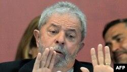 Բրազիլիայի նախկին նախագահ Լուիս Ինասիո Լուլա դա Սիլվա, նոյեմբեր, 2015թ․