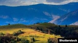 Манасташ Ридж (Manastash Ridge) тоо кыркасы.
