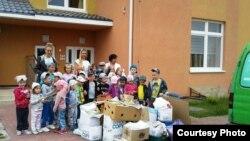 Детский сад №125 собрал 264 килограмма макулатуры