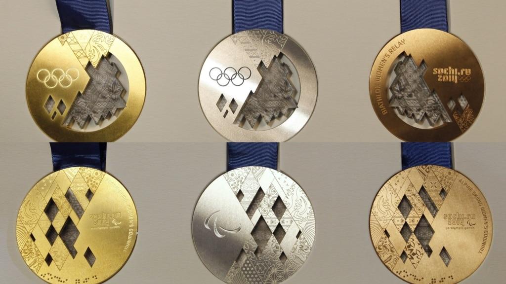 Medal Table  Sochi 2014  BBC Sport