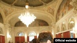 ბექა გოჩიაშვილი და მონტროს ფესტივალის კიდევ ერთი ლაურეატი, აზერბაიჯანელი ისფარ სარაბსკი