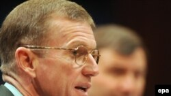 The commander of U.S. and NATO forces in Afghanistan, General Stanley McChrystal, testified at a House Armed Services Committee hearing on December 8, 2009.