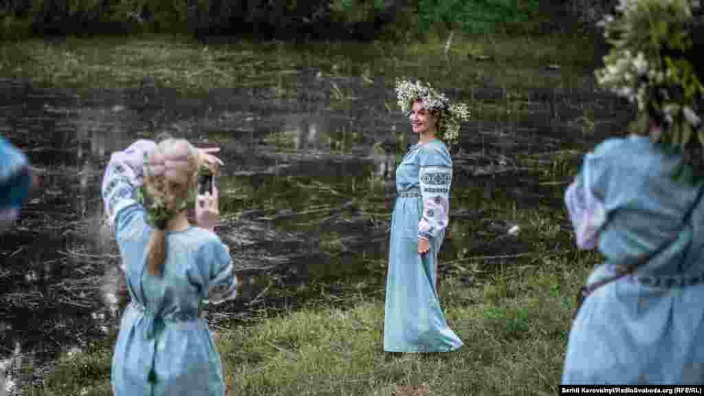 Традиційно святкування Івана Купала відбувалася біля водойм