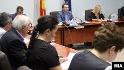 Скопје-седница на Комисијата за политички систем и односи меѓу заедниците,06.07.2017
