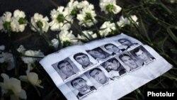 В результате столкновений 1-2 марта 2008 года в Ереване погибли 10 человек
