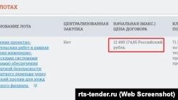 Проектно-вишукувальні роботи з оснащення системою безпеки Керченського мосту обійшлися в 12,4 мільйона рублів
