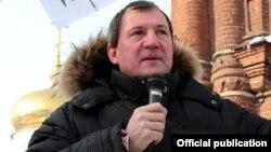 Михаил Щеглов 2013 елда Казанда урыс милләтчеләре митингында чыгыш ясый