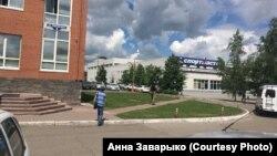 Фото с место происшествия в Новокузнецке