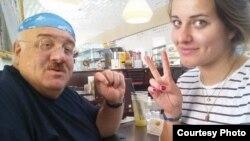 Каха Бендукидзе с дочерью