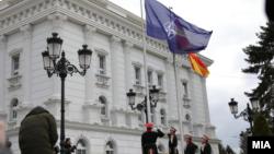 Архивска фотографија- зградата на владата на Северна Македонија