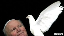 Pope John Paul II in 2005