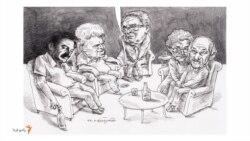یک مهمانی گیلکی برای شاملو و ساعدی در خانه تورج اتابکی